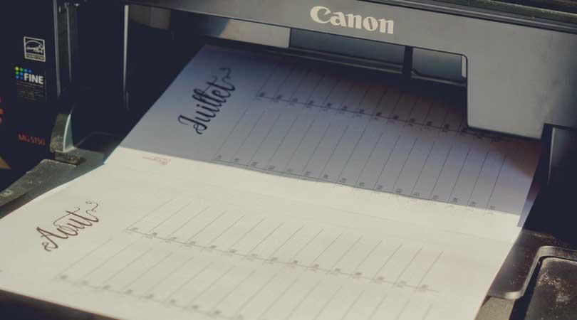 Comment imprimer son bullet journal avec nos fichiers ?