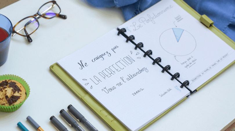 Soigner son perfectionnisme : les pièges du bullet journal