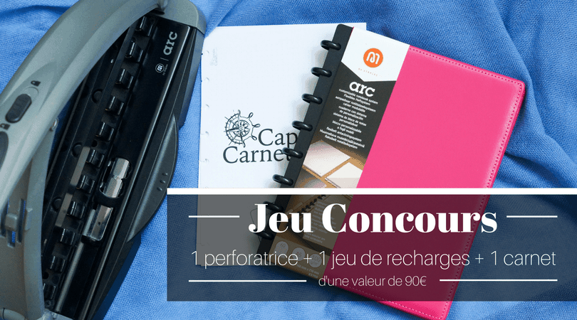 jeu-concours-carnet-pages-repositionnables-planner-perforatrice