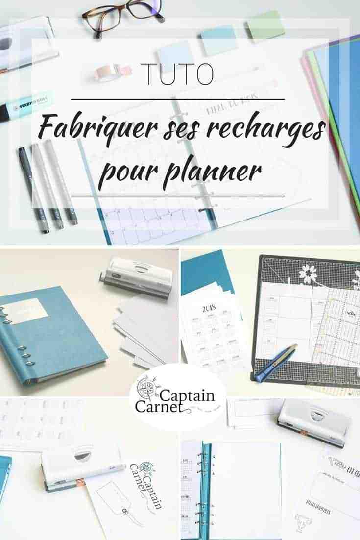 fabriquer-recharges-planner-pinterest