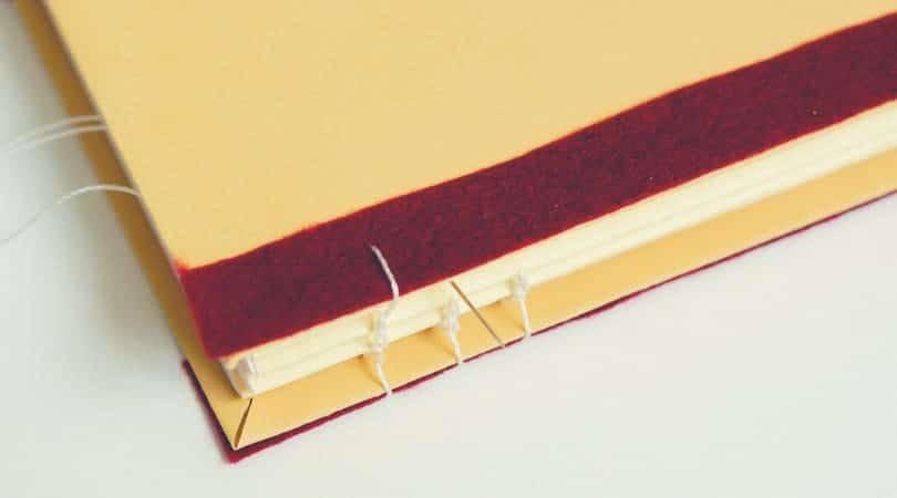 fabriquer un carnet qui tient a plat