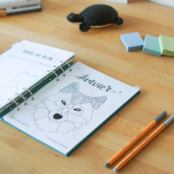 mood tracker bullet journal printable