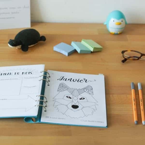 mood tracker bullet journal printable