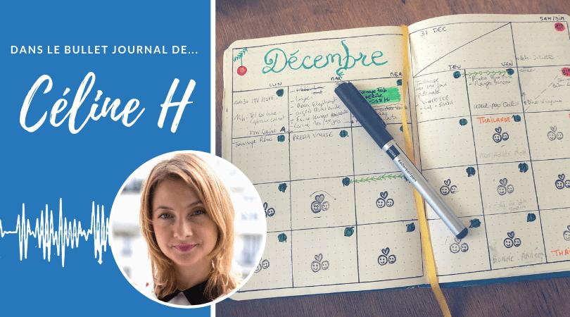 Dans le Bullet Journal de Céline H – Interview