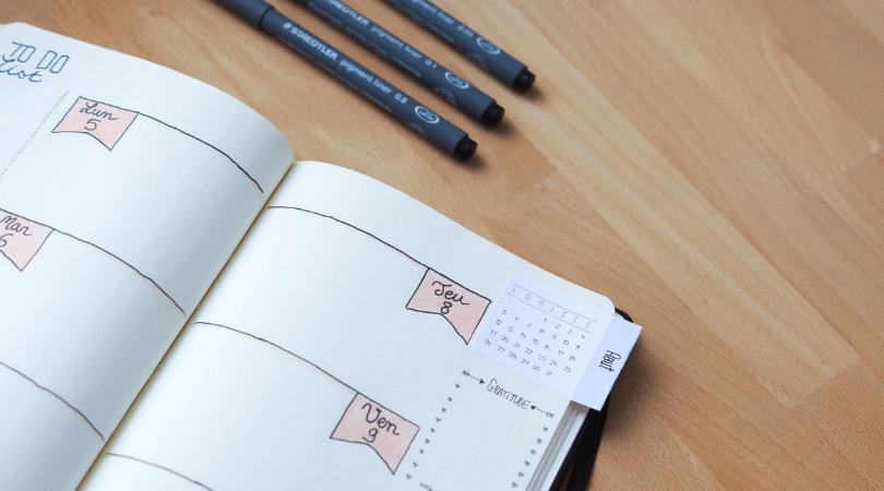 Stickers Calendriers pour bullet journal : comment imprimer ses autocollants ?