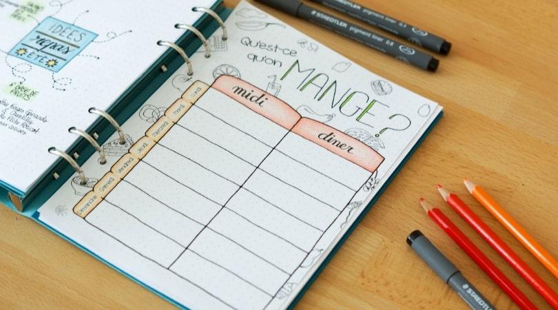 planning-menus-semaine-organiser