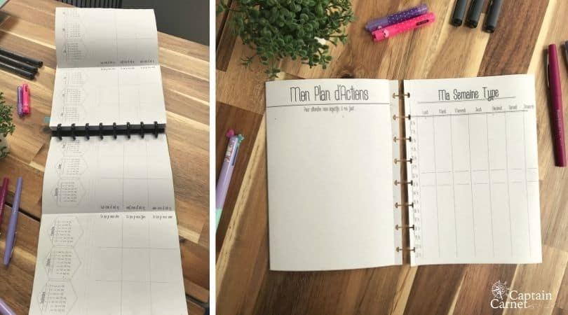 Recharges en dépliants pour planner : plus d'espace de créativité !